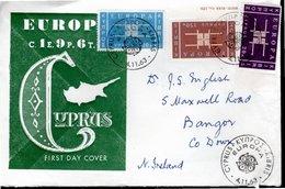 FDC 1963 - SERIE COMPLETE EUROPA - - Chypre (République)