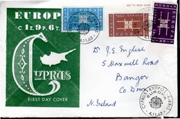 FDC 1963 - SERIE COMPLETE EUROPA - - Cyprus (Republic)