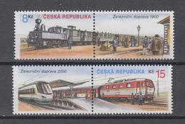 Tschechische Republik  2000 ,  Michel Nr: 252/53  (Marken Aus Block 13)  **    CEPT  Mitläufer - Europäischer Gedanke