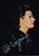"OPERA German Soprano UTE VINZING Autograph Hand Signed Dedicacee - Photo 1970's As Isolde In ""Tristan & Isolde"" - Fotos Dedicadas"