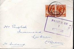 LETTRE OUVERTE PAR CENSURE 1939 - - Straits Settlements