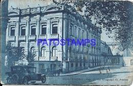 107711 URUGUAY MONTEVIDEO EL ATENEO BUILDING DAMAGED POSTAL POSTCARD - Uruguay