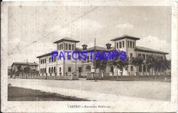 107713 SPAIN ESPAÑA LAREDO SCHOOL ESCUELAS PUBLICAS SPOTTED  POSTAL POSTCARD - Espagne
