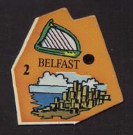 Le Gaulois Europe - 2 BELFAST Irlande Du Nord - Magnets
