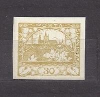 Czechoslovakia 1918 MNH ** Mi 6 Sc 6 Hradcany At Prague C7 - Tchécoslovaquie