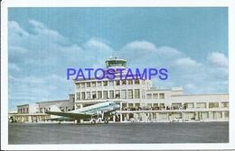 107715 URUGUAY MONTEVIDEO PALACIO DEL AEROPUERTO AIRPORT AVIATION POSTAL POSTCARD - Uruguay