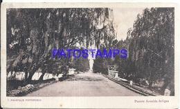 107716 URUGUAY PIRIAPOLIS DTO MALDONADO BRIDGE PUENTE AVENIDA ARTIGAS POSTAL POSTCARD - Uruguay