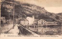 25 - BESANCON-les-BAINS - Tarragon Et Citadelle - Moulin Et Usine D'Horlogerie - Besancon