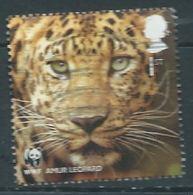 GROSBRITANNIEN GRANDE BRETAGNE 2011 Wildlife Fund: Leopard 1St USED SG 3166 SC 2887 MI 3071 YV 3454 - 1952-.... (Elizabeth II)