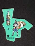 Le Gaulois Europe - 18 MALMÖ Suède - Magnets