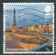 GROSSBRITANNIEN GRANDE BRETAGNE GB 2011 UK A-Z (part 1): BLACKPOOL TOWER 1ST USED SG 3231 MI 3155 YT 3547 SC 2948 - 1952-.... (Elizabeth II)