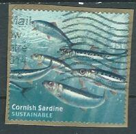 GROSSBRITANNIEN GRANDE BRETAGNE GB 2014 Fish S/A  From Booklet   SG 3633 SC  MI  YV  4042 - 1952-.... (Elizabeth II)