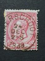 COB N ° 46 Oblitération Waerschoot 1889 - 1884-1891 Léopold II
