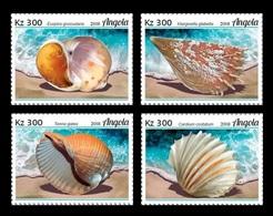 Angola 2018 Mih. 1921/24 Fauna Of Angola. Marine Molluscs MNH ** - Angola