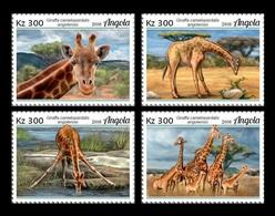 Angola 2018 Mih. 2026/29 Fauna Of Angola. Giraffes MNH ** - Angola