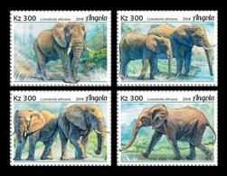Angola 2018 Mih. 2046/49 Fauna Of Angola. Elephants MNH ** - Angola