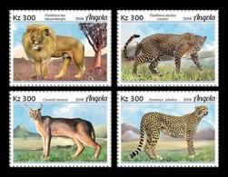 Angola 2018 Mih. 2051/54 Fauna Of Angola. Big Cats MNH ** - Angola