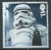 GROSBRITANNIEN GRANDE BRETAGNE GB 2015 STAR WARS : STORMTROOPER 1ST SG 3760 MI 3798 YT 4216 SC 3466 - 1952-.... (Elizabeth II)