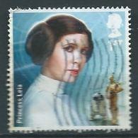 GROSBRITANNIEN GRANDE BRETAGNE GB 2015 STAR WARS : PRINCESS LEIA  1ST SG 3763 MI 3801 YT 4219 SC 3469 - 1952-.... (Elizabeth II)
