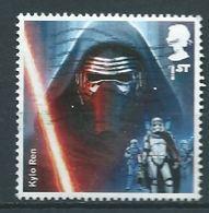 GROSBRITANNIEN GRANDE BRETAGNE GB 2015 STAR WARS : KYLO REN  1ST SG 3768 MI 3806 YT 4224 SC 3474 - 1952-.... (Elizabeth II)