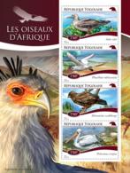Togo 2014  Birds Of Affrica  Fauna - Togo (1960-...)