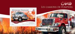 Togo 2014  Fire Engines - Togo (1960-...)