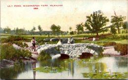 Wisconsin Milwaukee Washington Park Lily Pond - Milwaukee