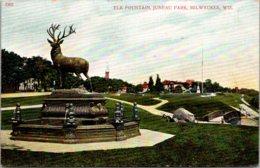 Wisconsin Milwaukee Juneau Park Elk Fountain - Milwaukee