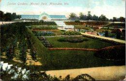 Wisconsin Milwaukee Mitchell Park Sunken Gardens 1908 - Milwaukee