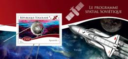 Togo  2014  The Soviet Space Program , Sputnik 1 - Togo (1960-...)
