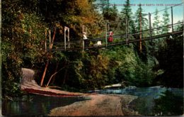 California Santa Cruz Swinging Bridge - United States