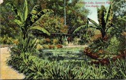 California Los Angeles Sycamore Park Sunken Lake - Los Angeles