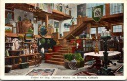 California Riverside Glenwood Mission Inn Cloister Art Shop 1935 - United States