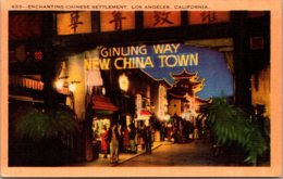 California Los Angeles New China Town Ginling Way - Los Angeles