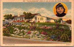 "California Westwood ""La Californiana"" Home Of Jane Withers - United States"