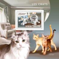 Togo  2014  Fauna  Cats - Togo (1960-...)