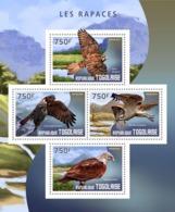 Togo  2014  Fauna   Birds Of Prey - Togo (1960-...)