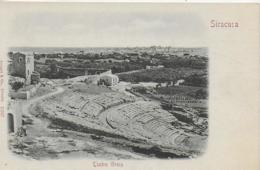 AK 0165  Siracusa - Teatro Greco Um 1900-1910 - Siracusa
