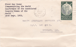 Australia 1962 Country Women Association,FDC - FDC