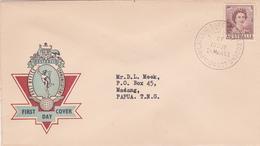 Australia 1962 Queen Elizabeth II,2d Brown,Post Office FDC Type ! - FDC