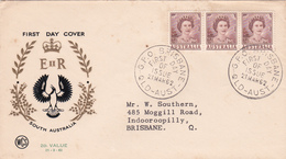 Australia 1962 Queen Elizabeth II,2d Brown,WCS FDC Toned - FDC