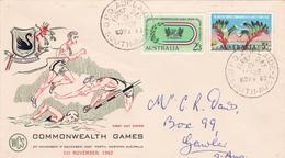Australia 1962 VII Commonwealth Games,WCS FDC - FDC
