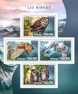 Togo  2014  Fauna  Owls - Togo (1960-...)