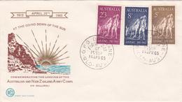 Australia 1965 50th Anniversary Gallipoli Landing,WCS  FDC,Type 2 - FDC