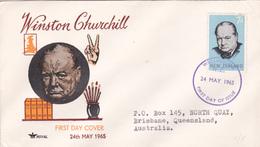 Australia 1965 Sir Winston Churchill,Royal,FDC - FDC