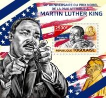 Togo  2014  Martin Luther King Jr.'s Nobel Peace Prize - Togo (1960-...)