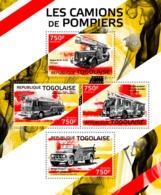 Togo  2014  Fire Trucks - Togo (1960-...)