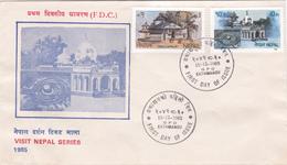 Nepal 1985 Visit Nepal,FDC - Nepal