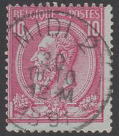 "COB N° 46 - Oblitération ""CONCOURS"" MIDI 2 - 1884-1891 Léopold II"