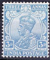 INDIA KGV 1913 2.5a Ultramarine SG171 MH - 1911-35 King George V